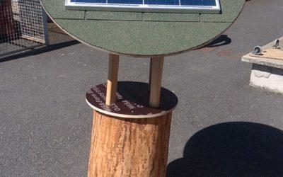 Projet d'arbre solaire – Lycée Champagnat à St Symphorien sur Coise